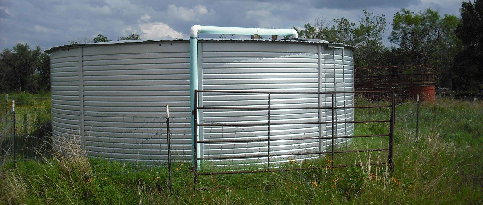 15000 gallon water storage tanks
